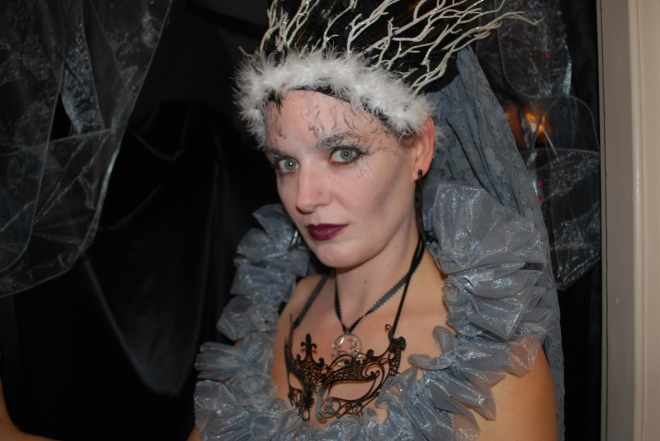 Me, as a forbidding faerie queen